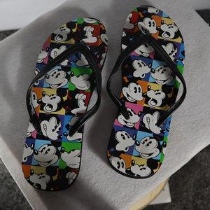 Disney Mickey Mouse sandals flip flops unisex 7-8